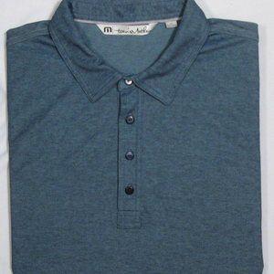 TRAVIS MATHEW ~ Pima Cotton Blend Polo Golf Shirt